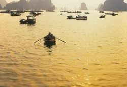 By Water Way To Halong Bay