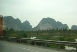 By Road Way To Halong bay