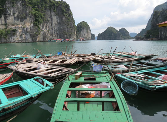 Visiting Halong Bay Floating Villages