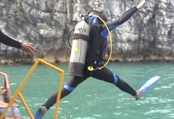 Scuba-Diving in Halong Bay