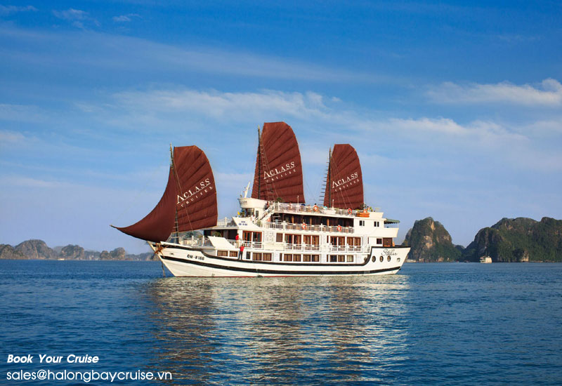 Halong Bay 2-Day Tour with Mid-Range Cruises