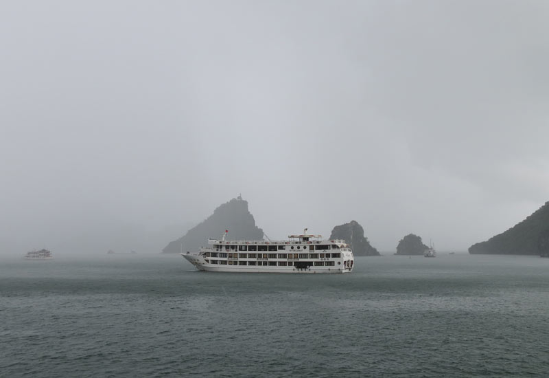 First Time Trip to Halong Bay in August