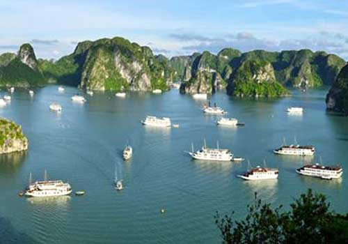 The most exciting journey in Halong Bay this summer