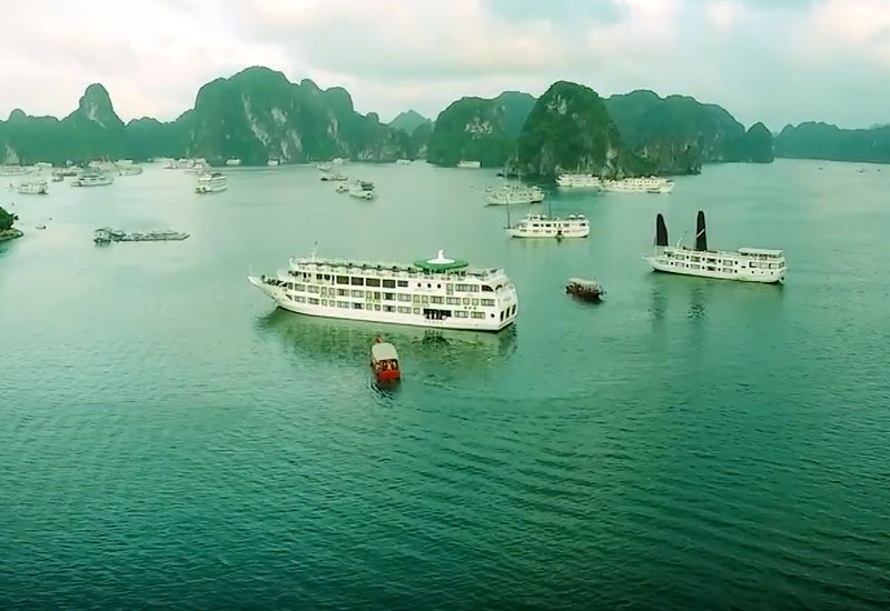 Ha Long Bay krydstogter (Danish)