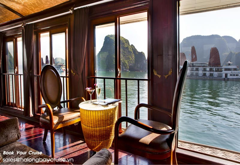 What is the average cost of a Halong bay cruise?