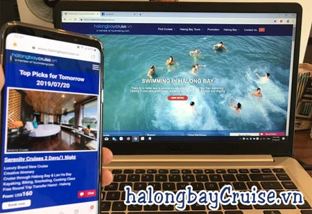 Useful Website & Apps to Book Halong Bay Tours & Cruise Activities in Halong Bay