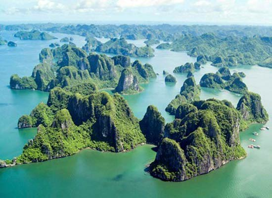 Where is Ha Long Bay?