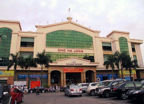 Where to shop in Halong city? Halong Market