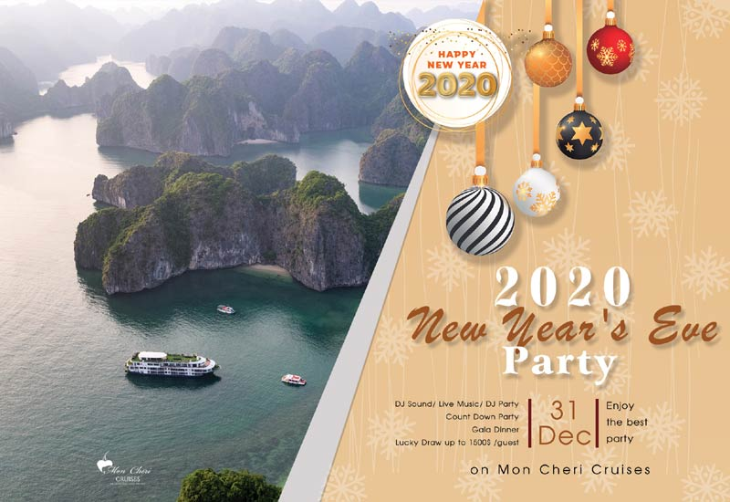 10 Best Halong Bay Cruises to Celebrate New Year's Eve 2020