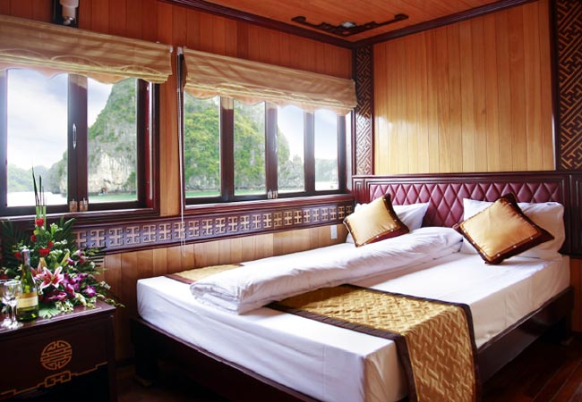 Golden Lotus Cruises superior cabin