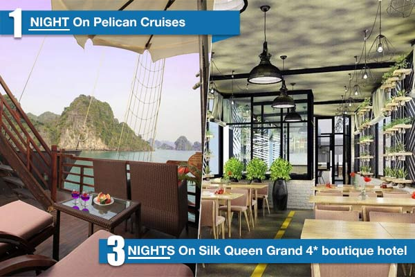 Hanoi - Pelican Cruise 5 Days/4 Nights