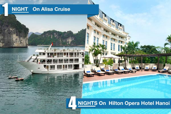 Hilton Opera - Alisa Cruise 6 Days/5 Nights