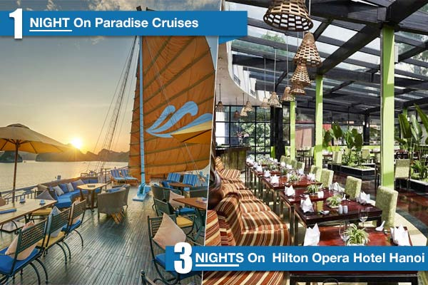 Hilton - Paradise Cruises 5 Days/4 Nights