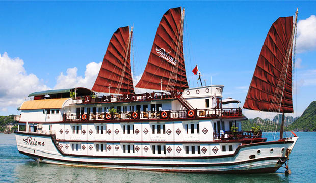 Paloma cruise in Halong Bay - 3 days