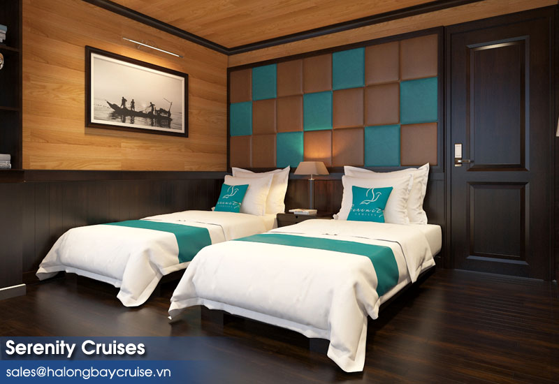 Serenity Cruises Suite Twin