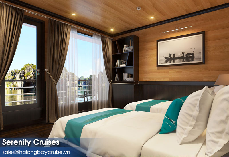 Serenity Cruises Senior Suite Twin View