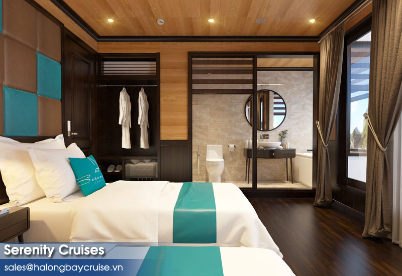 Serenity Cruises Senior Suite Ocean