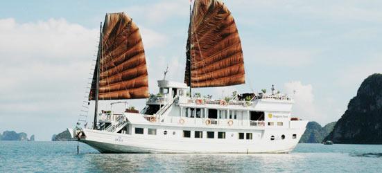 dragon pearl halong bay booking