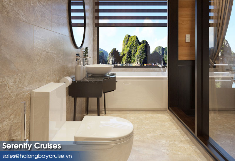 Serenity Cruises Bathroom