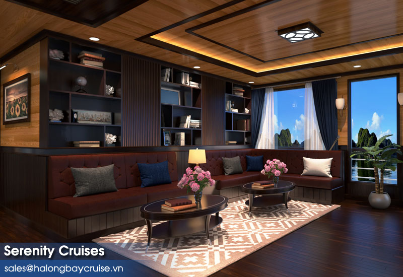 Serenity Cruises Leisure Lounge