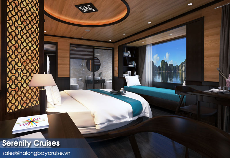 Serenity Cruises Moon Suite - Balcony